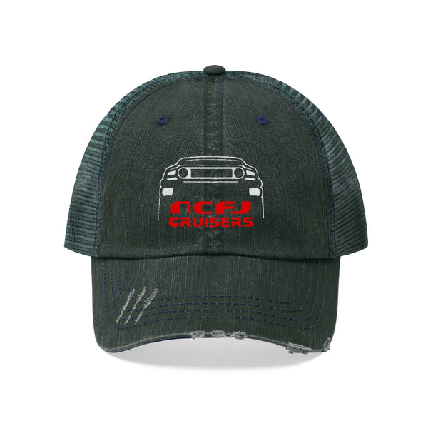 NCFJ - Embroidered Trucker Hat by Reefmonkey