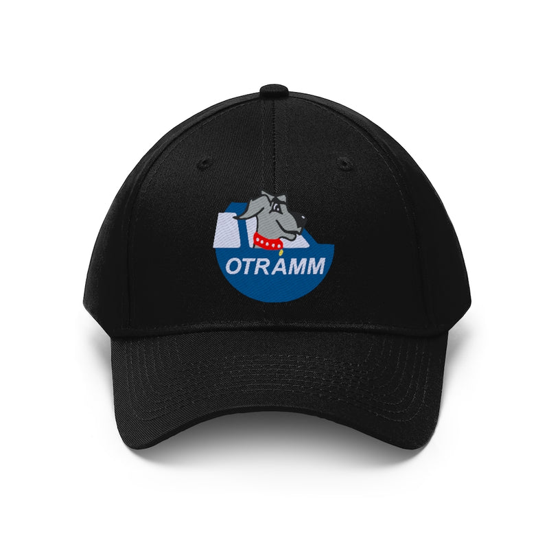 OTRAMM Embroidered Twill Hat FJ60 Land Cruiser and Dog Cotton Structured Cap