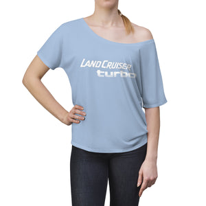 Land Cruiser Turbo Women's Slouchy Shirt by Reefmonkey