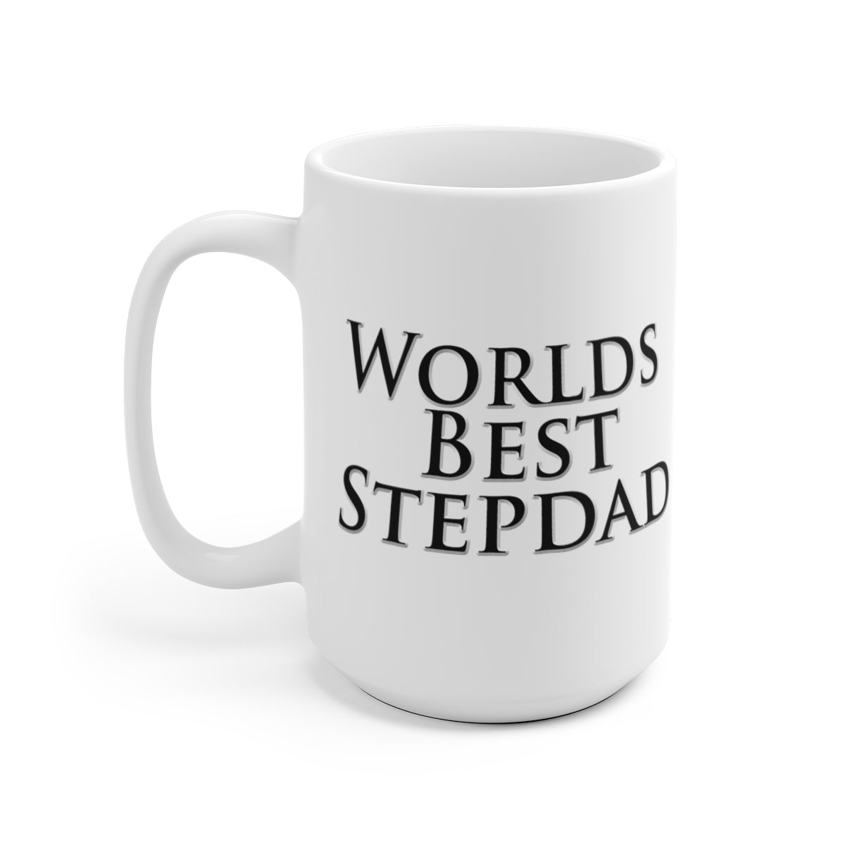 Worlds Best Step Dad Coffee Mug Fathers Day Gift by Reefmonkey