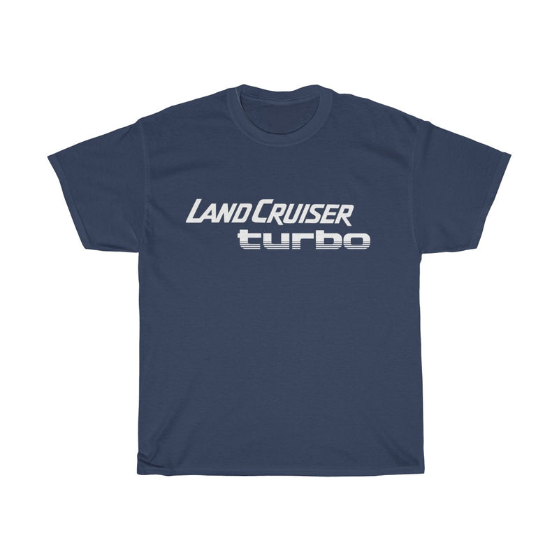 Toyota Land Cruiser Turbo T Shirt by Reefmonkey White Logo