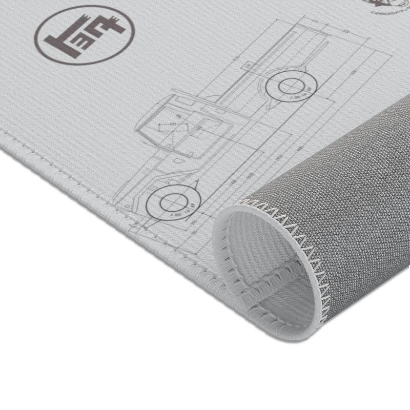 Land Cruiser Gray Area Rugs