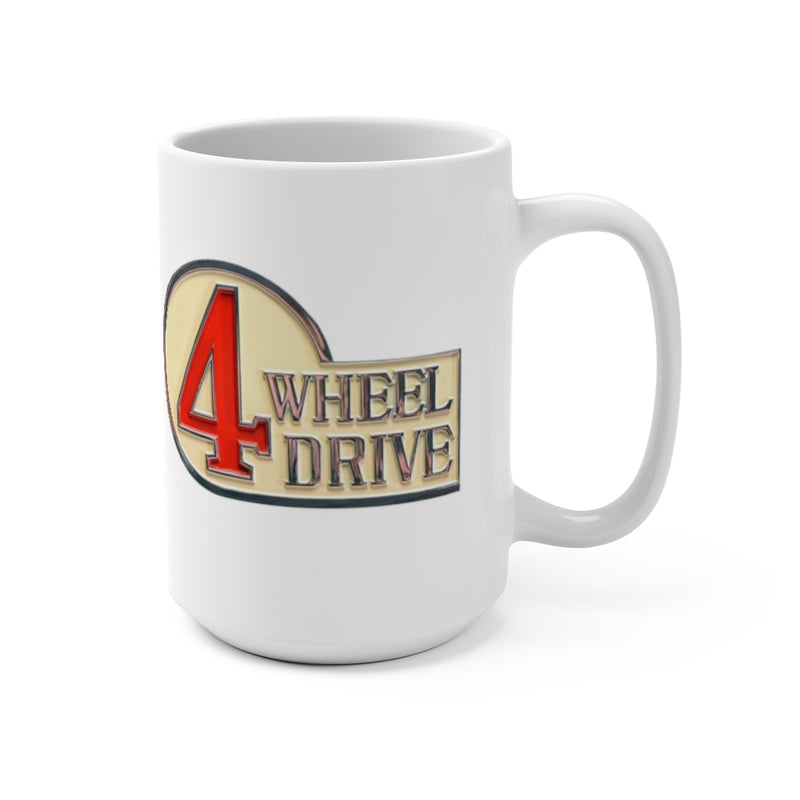 4 Wheel Drive Coffee Mug, FJ40 Coffee Cup, 4WD Mug, Reefmonkey