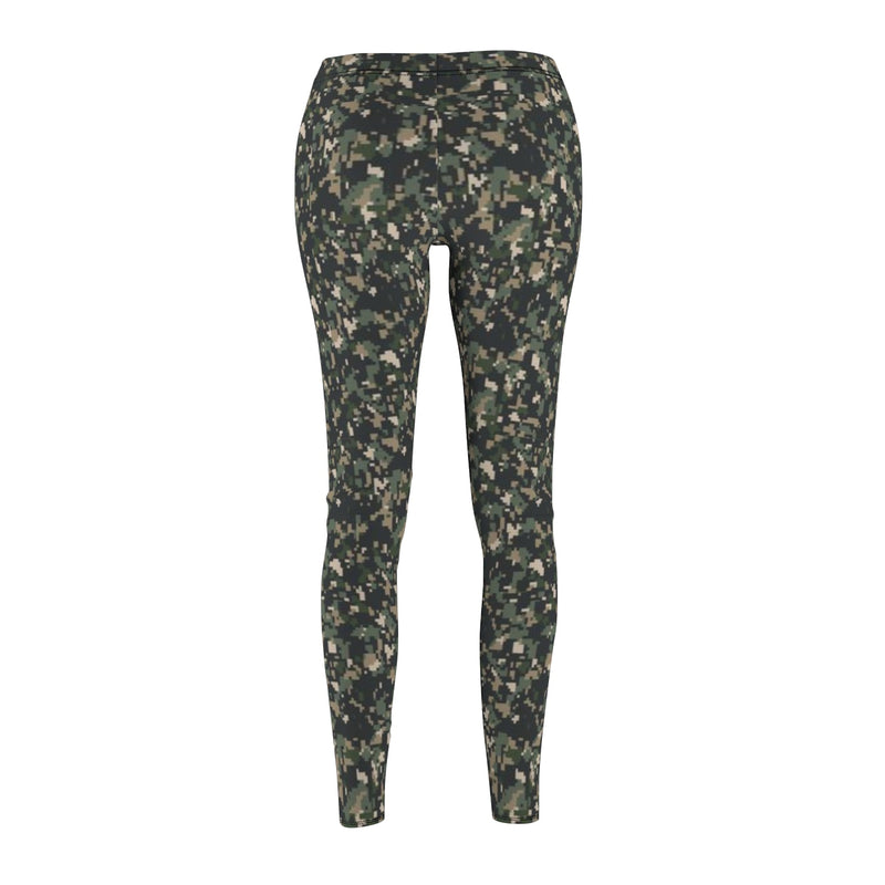 Camouflage Leggings Camo Yoga Pants by Reefmonkey