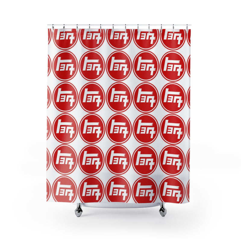 TEQ Toyota Shower Curtain by Reefmonkey