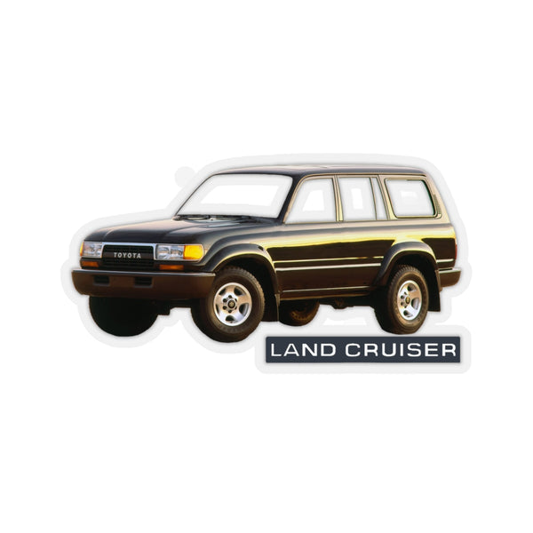 Toyota Land Cruiser FJ80 FZJ80 Custom Cut Decals By Reefmonkey