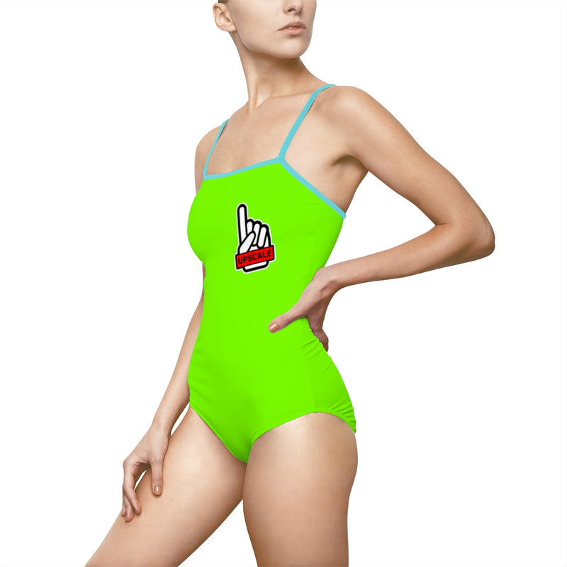 UPSCALE BELIZE - Womens Swimsuit in Green by Reefmonkey partner Squad Movements