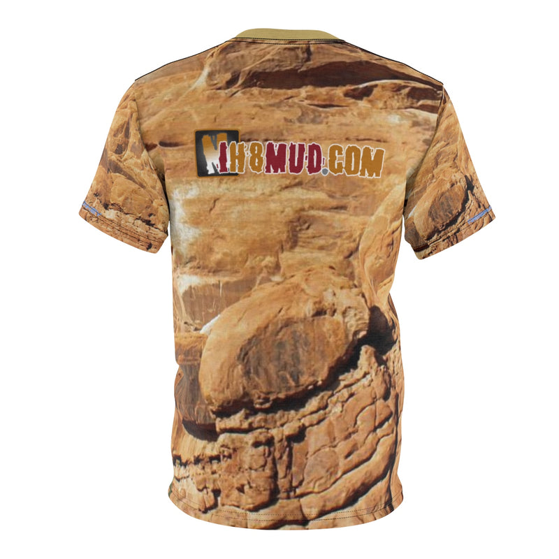 IH8MUD - Premium All Over Print Moab Rocks Tshirt - By Reefmonkey
