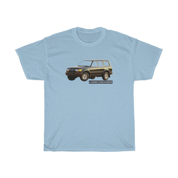Toyota Land Cruiser Tee, FJ80 T Shirt,  FZJ80 Tee, Toyota Gift For Guy - Reefmonkey