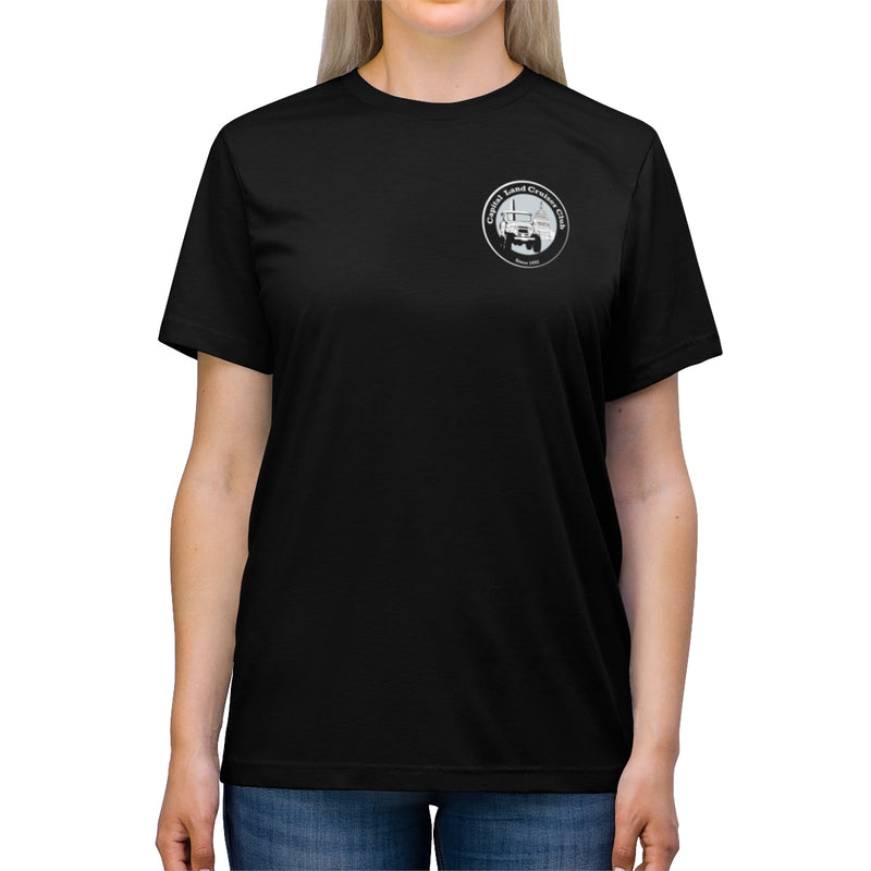Capital Land Cruiser Club Unisex Triblend Tshirt