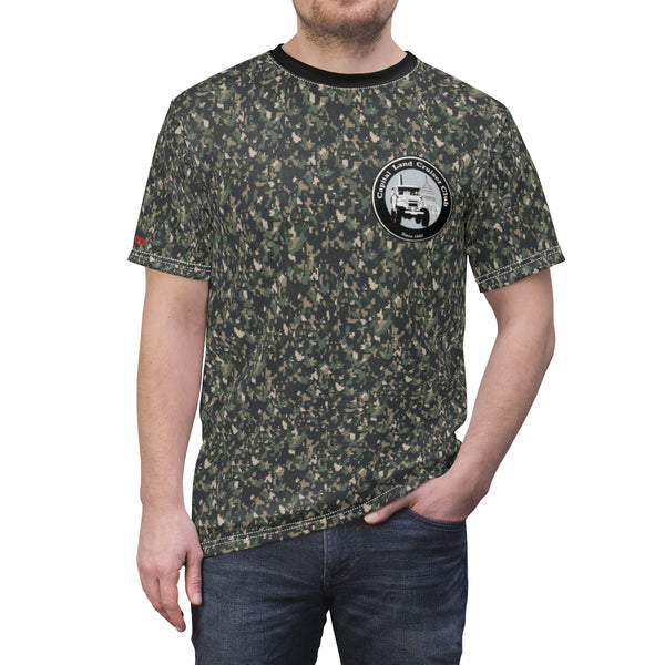 Capital Land Cruiser Club Premium Camo AOP Cut & Sew Tshirt