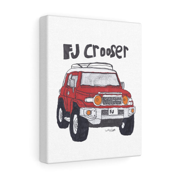 FJ Crooser / FJ Cruiser Canvas Gallery Wraps