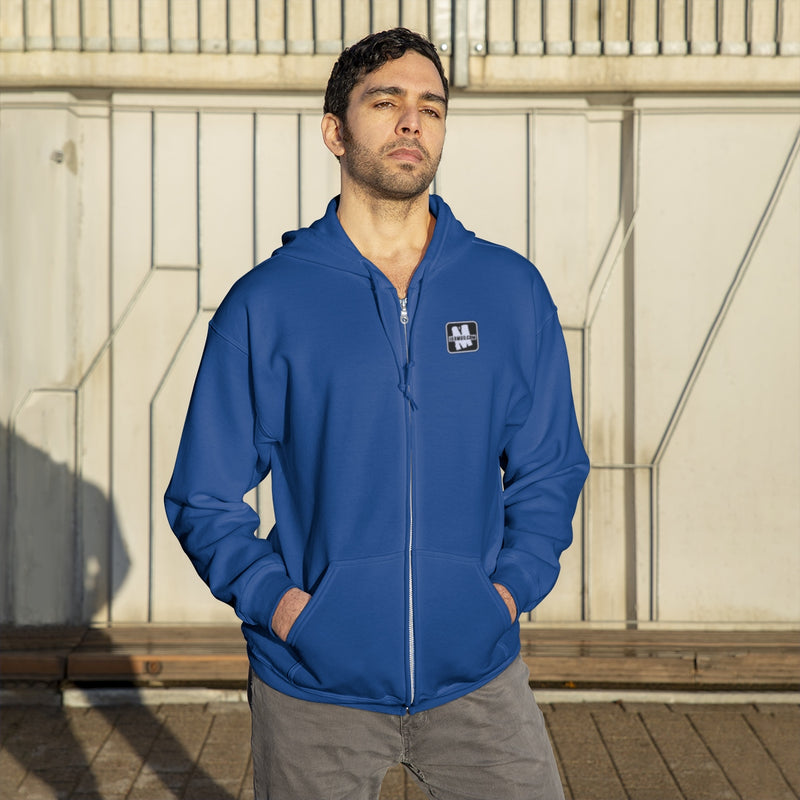 IH8MUD - Embroidered Full Zip Hoodie - By Reefmonkey partner IH8MUD