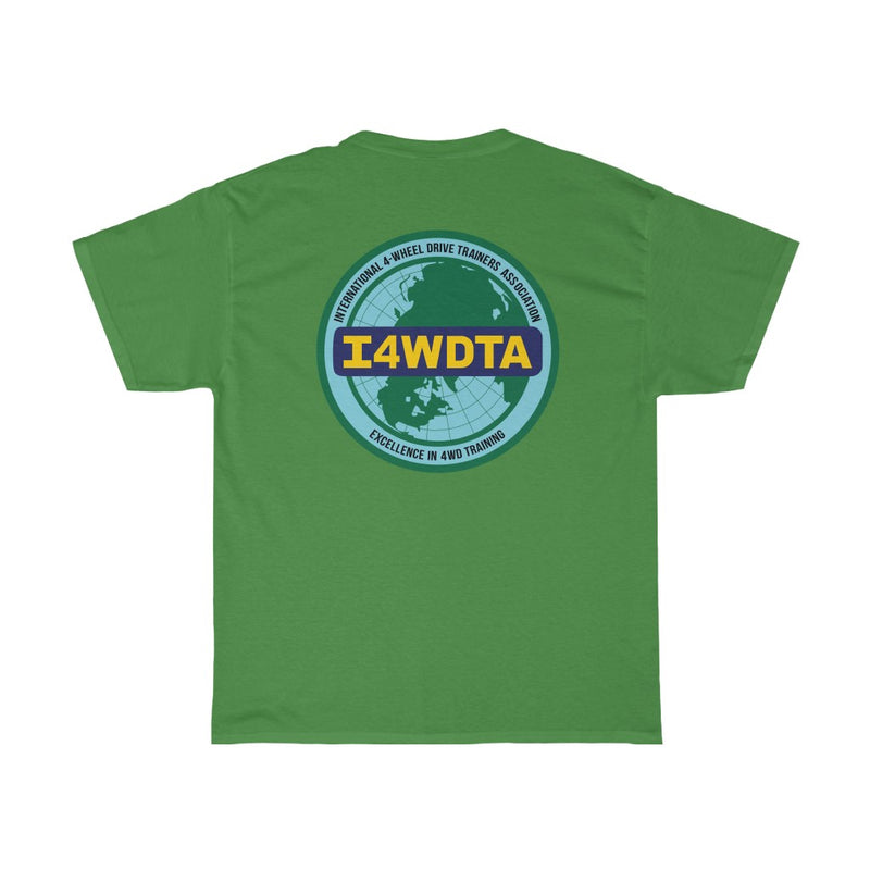 I4WDTA Classic Cotton Tee - Double Side Print Version