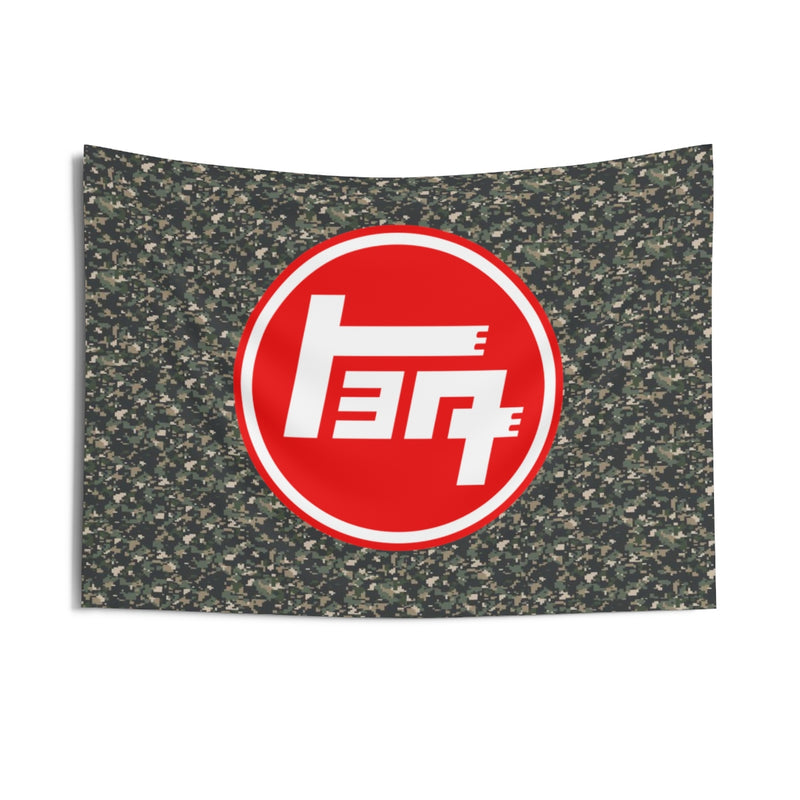 TEQ Old School Toyota Camoflague Giant Tapestry by Reefmonkey