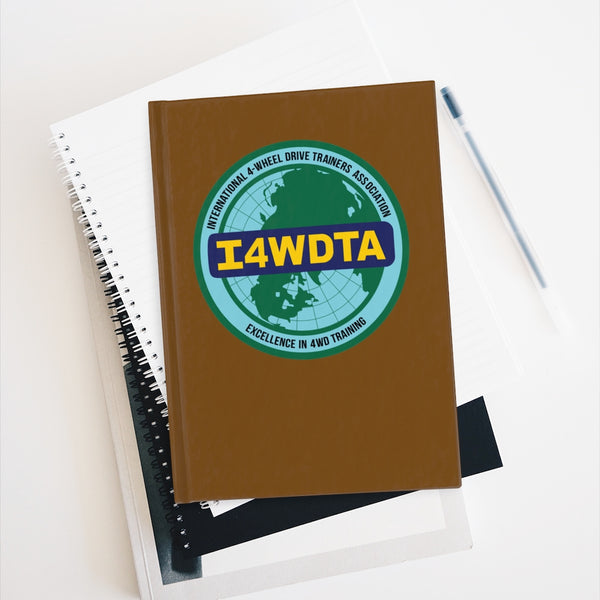I4WDTA Logbook Journal - Ruled Line