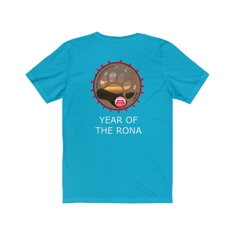 Upstate Cruisers - Over the Mountain Tour 2020 Short Sleeve Tee