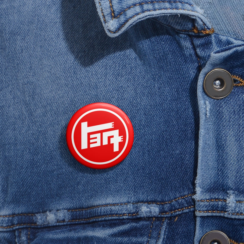 TEQ Toyota Pin Buttons by Reefmonkey