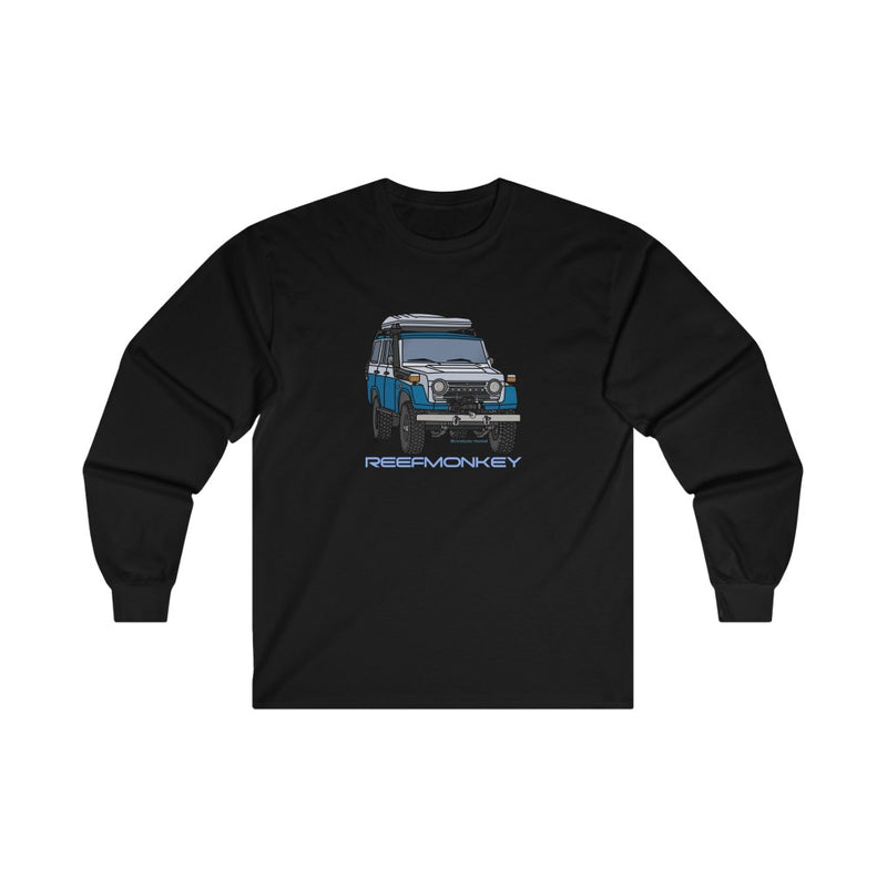 FJ55 Long Sleeve Shirt - Land Cruiser Shirt - Reefmonkey Artist Chris Marshall