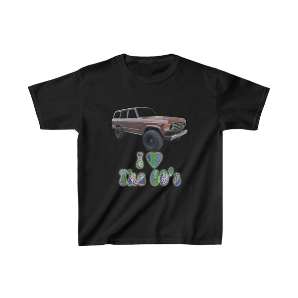 Toyota FJ60 Land Cruiser KIDS I Love the 60s T shirt by Reefmonkey