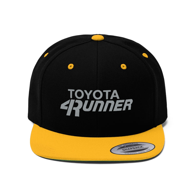 Toyota 4Runner Embroidered Flat Brim Hat