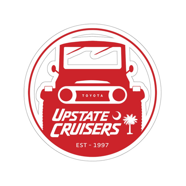 Upstate Cruisers Decal - Land Cruiser Sticker - Reefmonkey