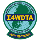 I4WDTA - Velcro Backed Embroidered Morale Patch (CERTIFIED TRAINERS ONLY)