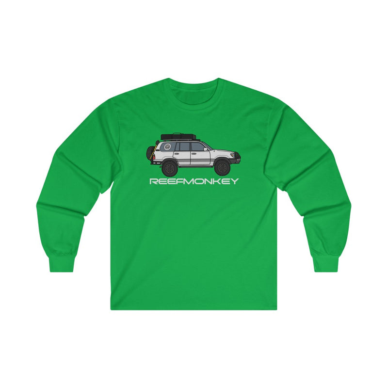 100 Series Shirt, Land Cruiser Shirt, Long Sleeve Tee, Toyota Gift - Reefmonkey Artist Chris Marshall