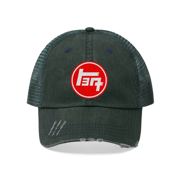 TEQ Trucker Hat Embroidery - by Reefmonkey FJCruiser Land Cruiser Hat