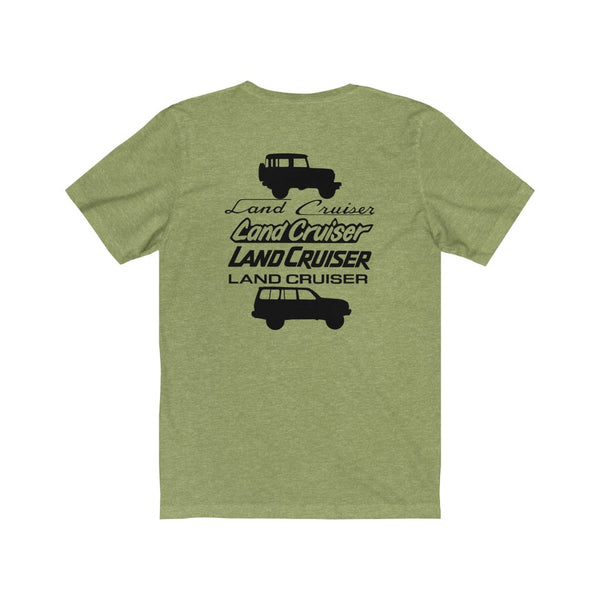 Land Cruiser Fonts VIP Tshirt FJ40 to FJ80 Logo Fonts shirt
