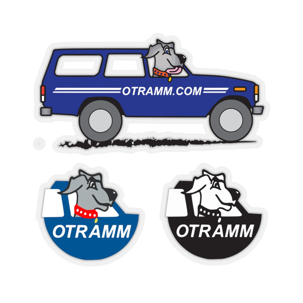 OTRAMM Sticker Pack FJ60 Land Cruiser and Dog Toyota Land Cruiser Decals