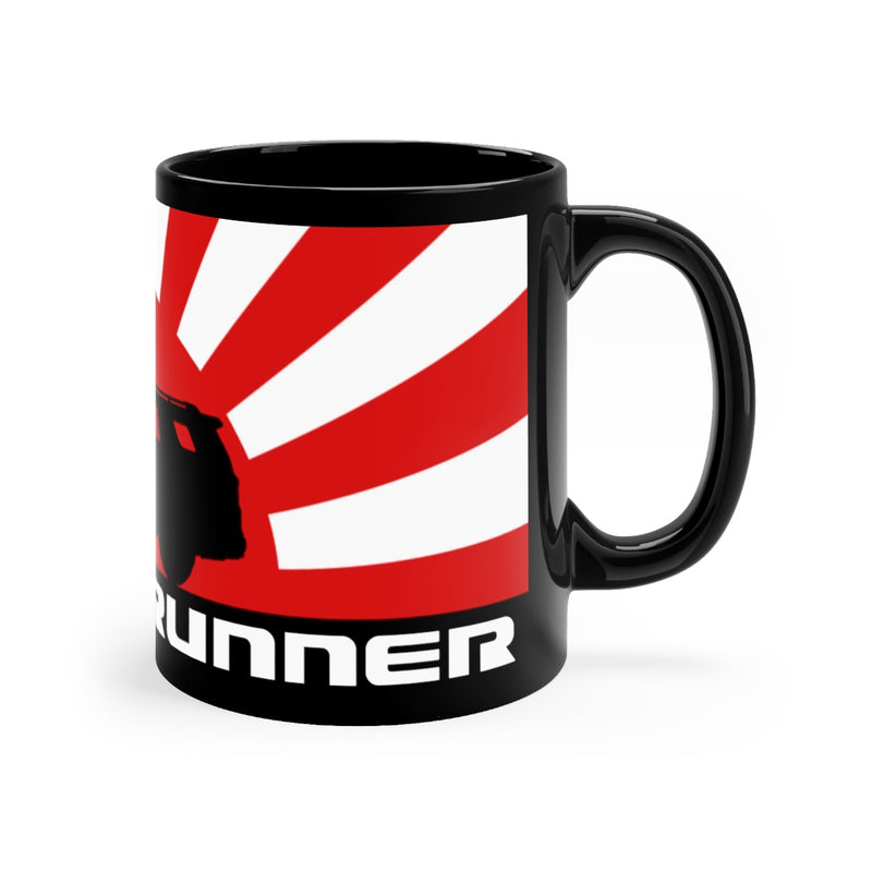4Runner Coffee Mug Rising Sun Silhouette Toyota 4runner Black mug