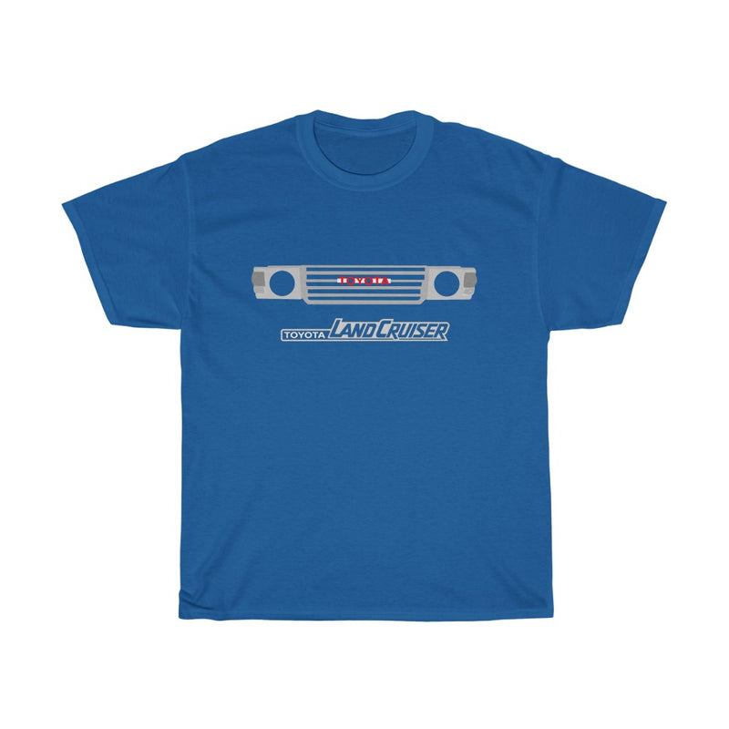 FJ60 Toyota Land Cruiser Tshirt - Light Logo Version by Reefmonkey
