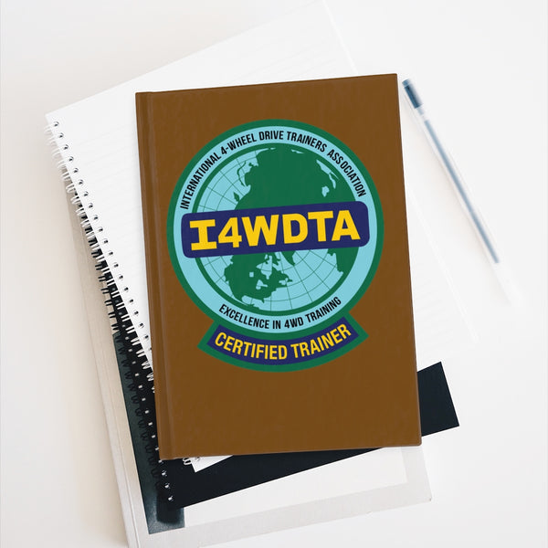 I4WDTA Logbook Journal - Ruled Line (CERTIFIED TRAINER ONLY)
