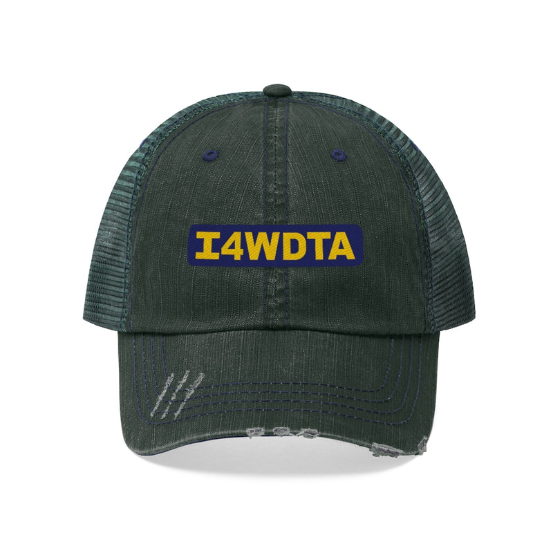 I4WDTA Basic Distressed Unisex Trucker Hat