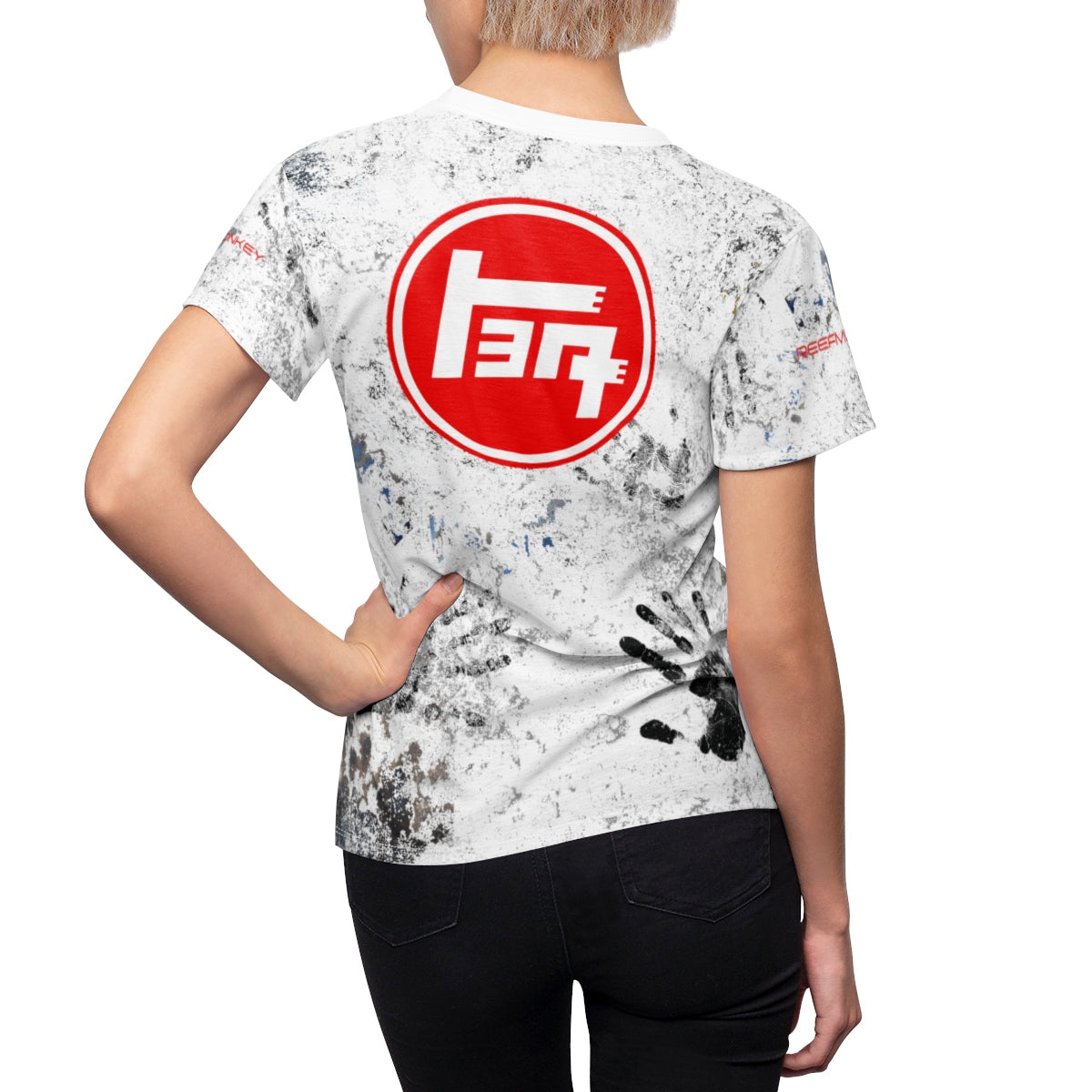 TEQ 4WD Toyota Dirty Shirt for women AOP Cut and Sew- by Reefmonkey