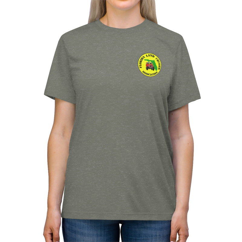 FLCA Florida Land Cruisers Association Value Triblend Tshirt