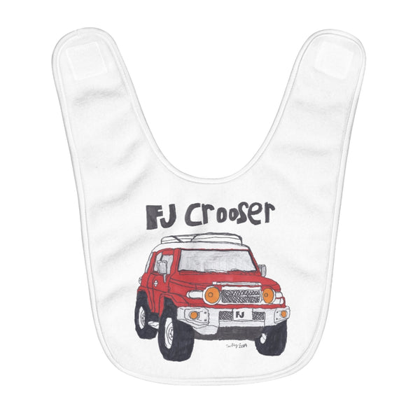 FJ Crooser / FJ Cruiser Kids Art Fleece Baby Bib