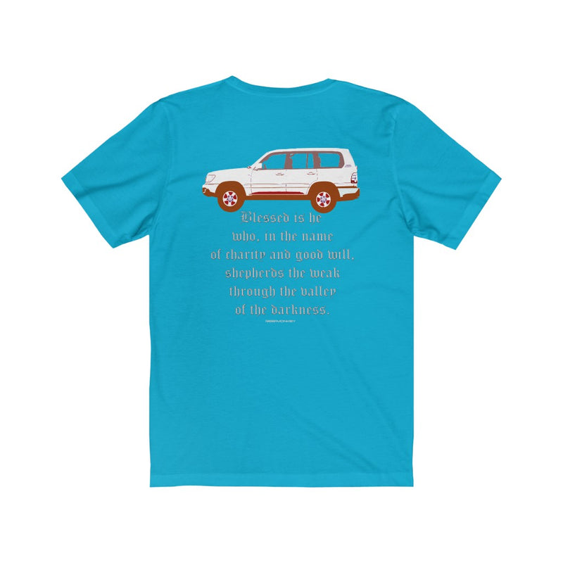100 Series - Toyota Land Cruiser T-shirt by Reefmonkey