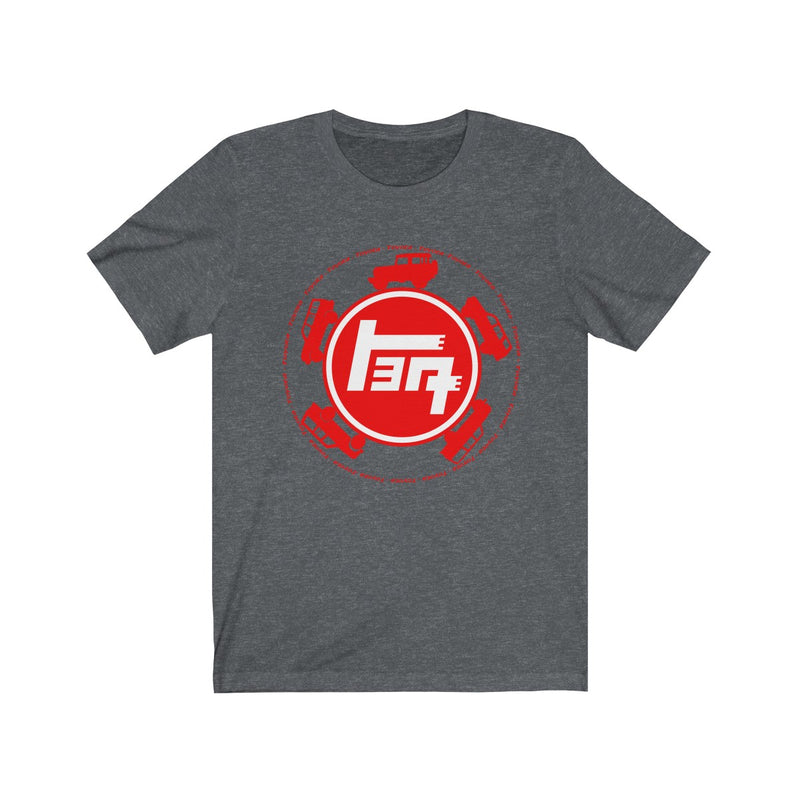 TEQ Toyota Silhouettes Unisex Jersey Short Sleeve T shirt