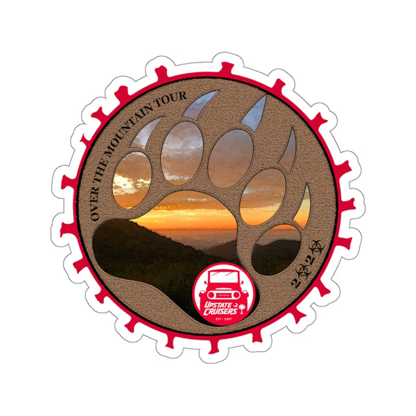 Upstate Cruisers Over The Mountain Tour 2020 Decal