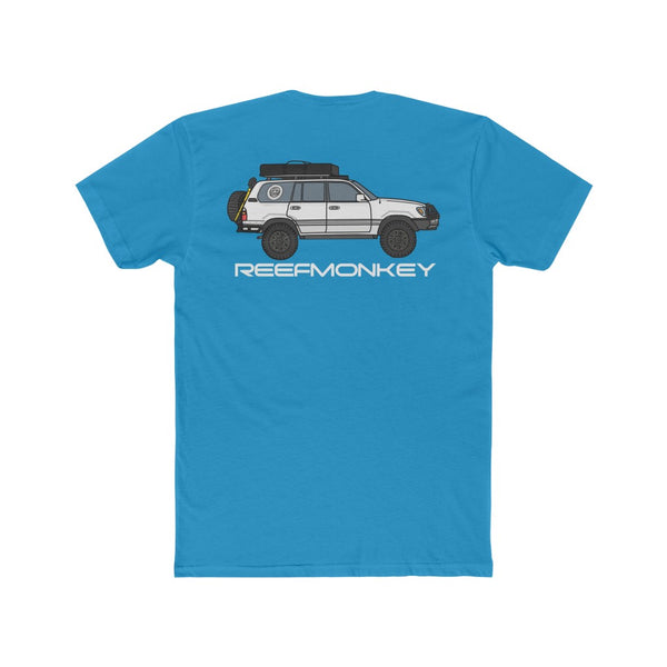 100 Series Tee, Land Cruiser T Shirt, Toyoyta T Shirt, Mens Tee - Reefmonkey Artist Chris Marshall