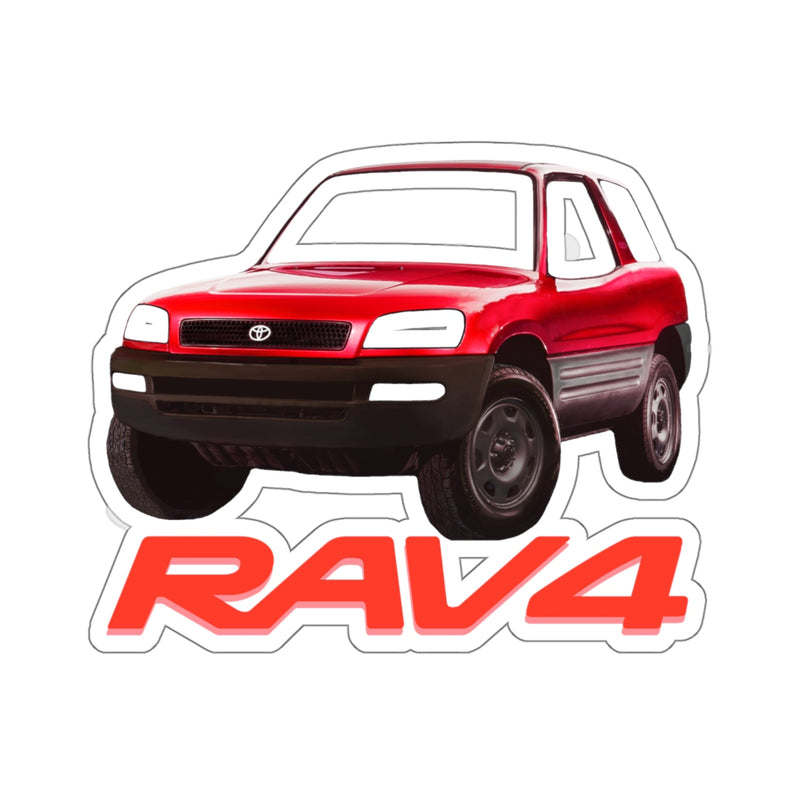 Toyota Rav4 XA10 Pre Facelift Sticker by Reefmonkey Gifts for Car Guys