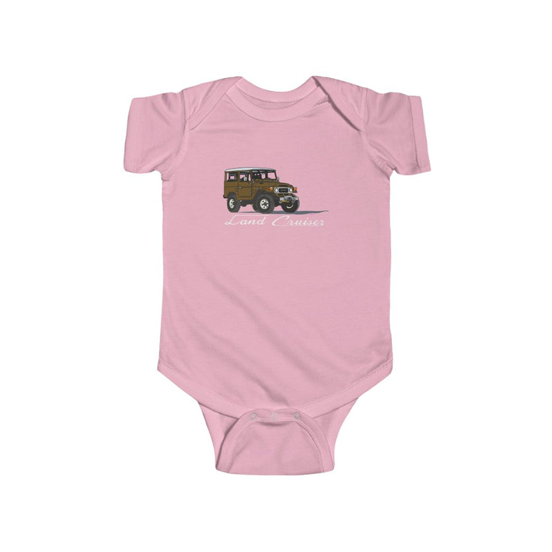 Land Cruiser Baby Bodysuit, Toyota Gift, Baby Shower Gift, New Dad Gift , FJ40 Gift - Artwork by Brody Ploude