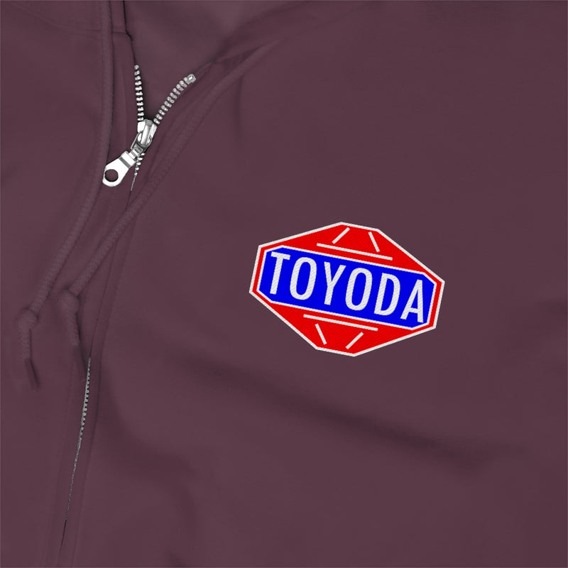 TOYODA Old School Unisex Zip Up Hoodie
