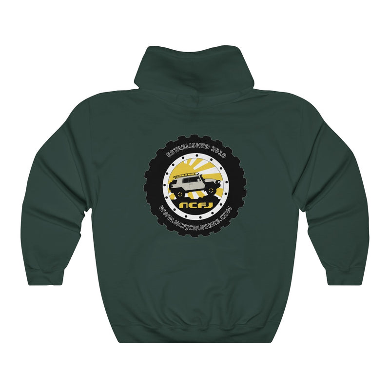 NCFJ Cruisers Unisex Heavy Blend Hooded Sweatshirt by Reefmonkey