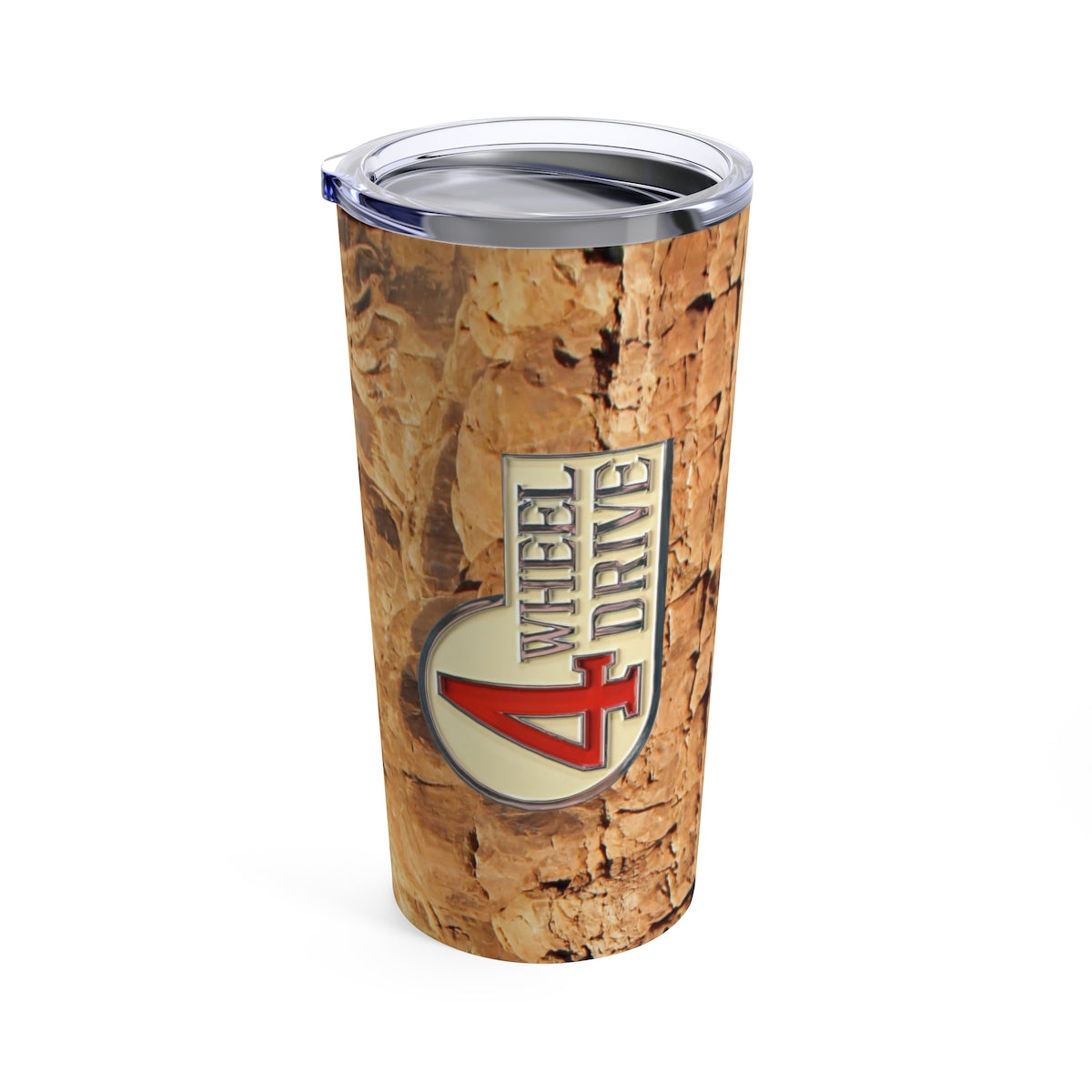 Toyota 4 Wheel Drive Land Cruiser Rocks Travel Mug Tumbler by Reefmonkey