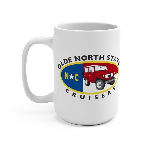 ONSC Olde North State Cruisers Land Cruiser Club Coffee Mug by Reefmonkey