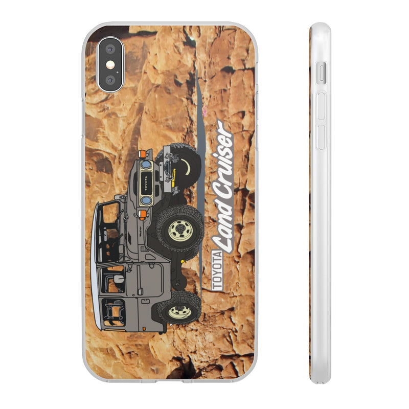 FJ40 Land Cruiser Rock Phone Cover by Reefmonkey Artist Brody Plourde