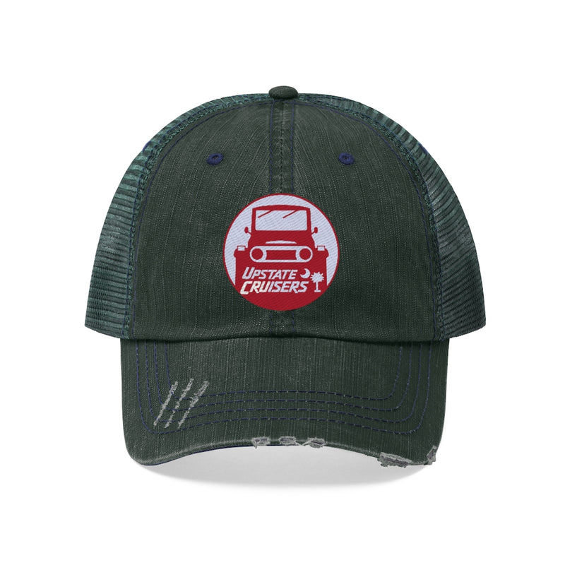 Upstate Cruisers - Embroidered Trucker Hat by Reefmonkey Land Cruiser Club Hat